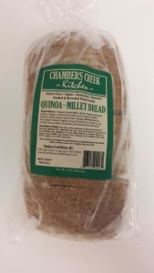Quinoa-Millet Bread packaged